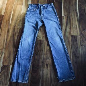 Levi's vintage high rise jeans 30 34 fit 27